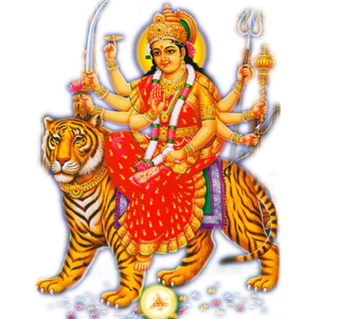Goddess clipart durga mata Maa PNG Transparent Download All