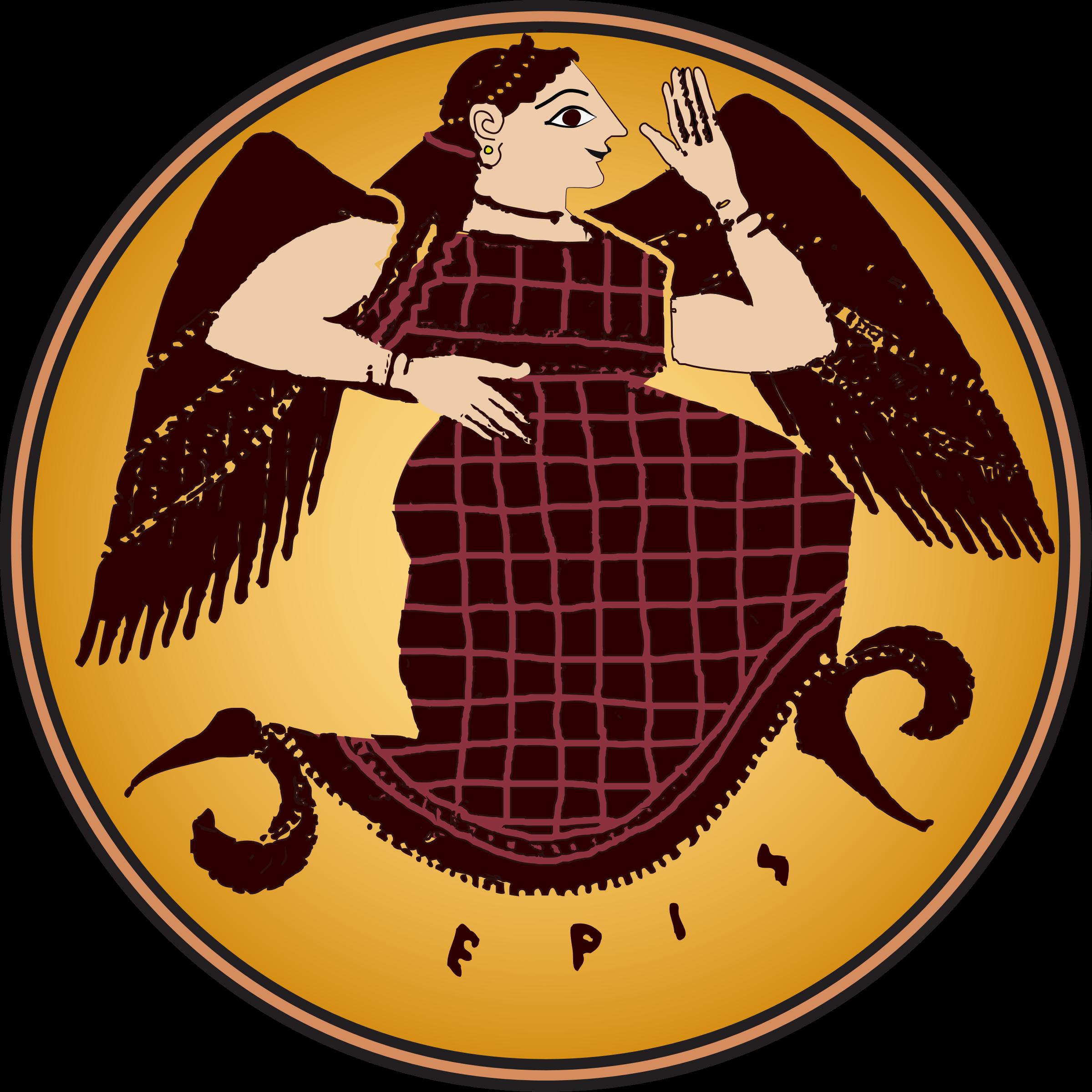 Goddess clipart eris Eris Eris in Clipart color