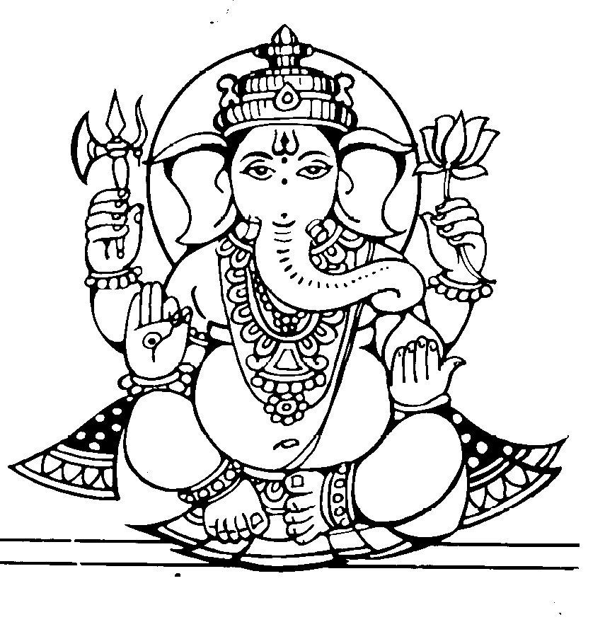 Indian clipart ganesh Lord Birthday Happy  Ganesha
