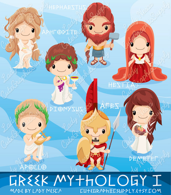 Gods clipart apollo Greek Greek  Greece mythology