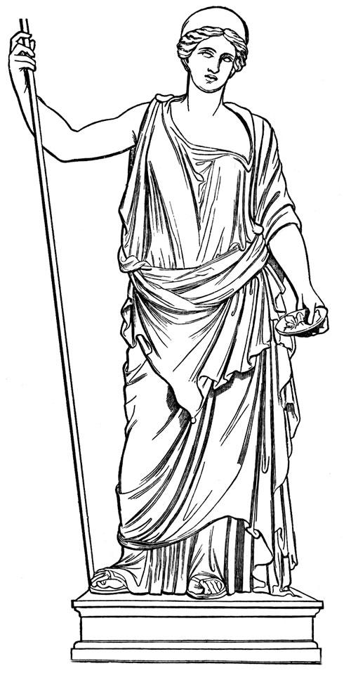Mythology clipart greek statue Hera Image Google com/public Hera