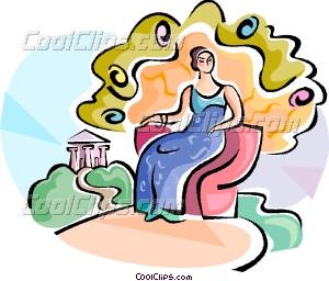 Mythology clipart hera Greek Hera Hera Greek Goddess