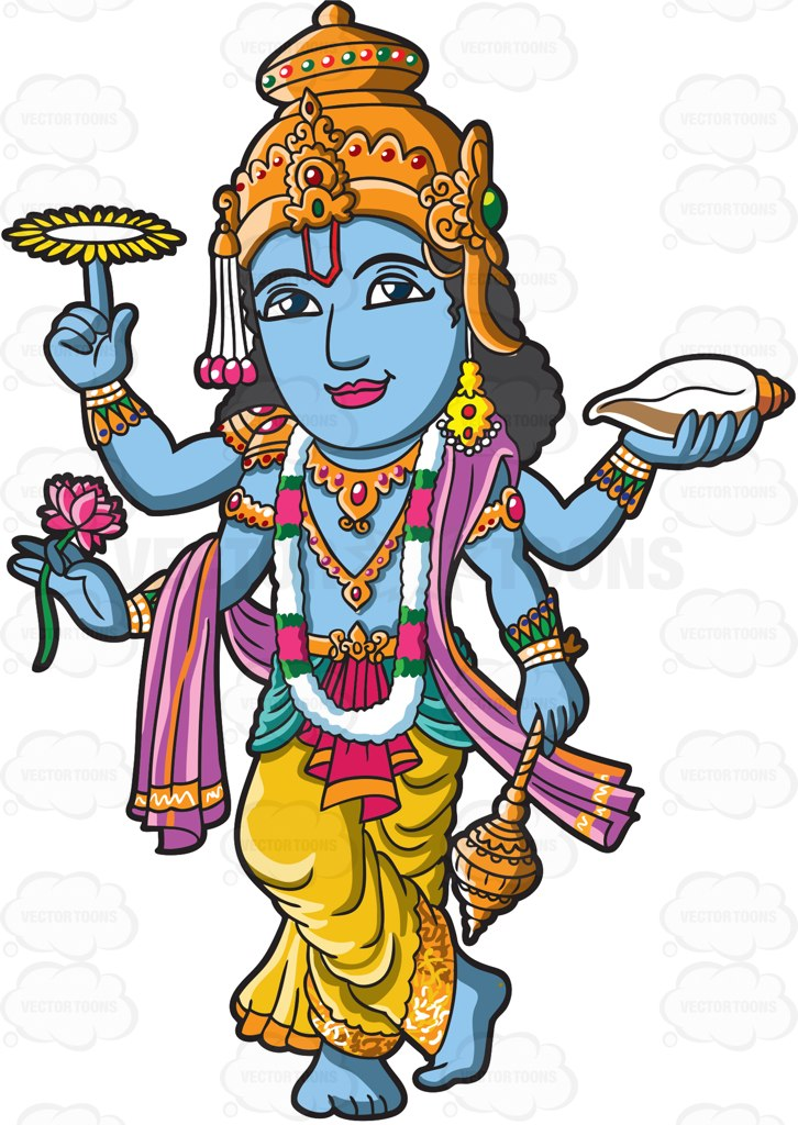 Goddess clipart hindu god Cartoon Clipart The  God