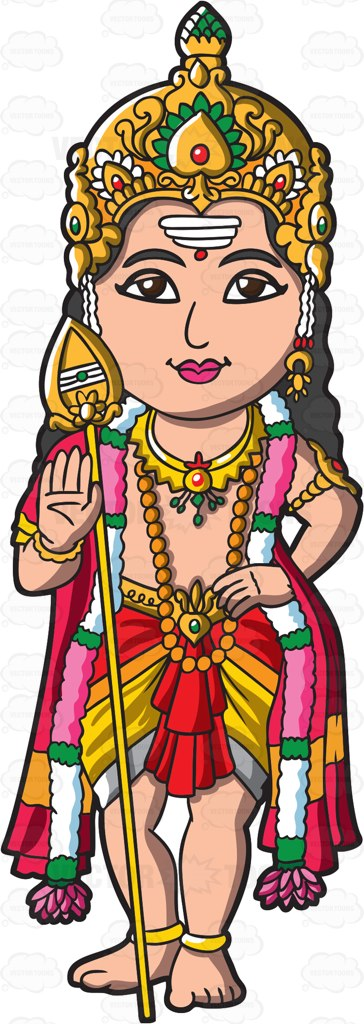 Goddess clipart hindu god Clipart #clipart Murugan The #cartoon