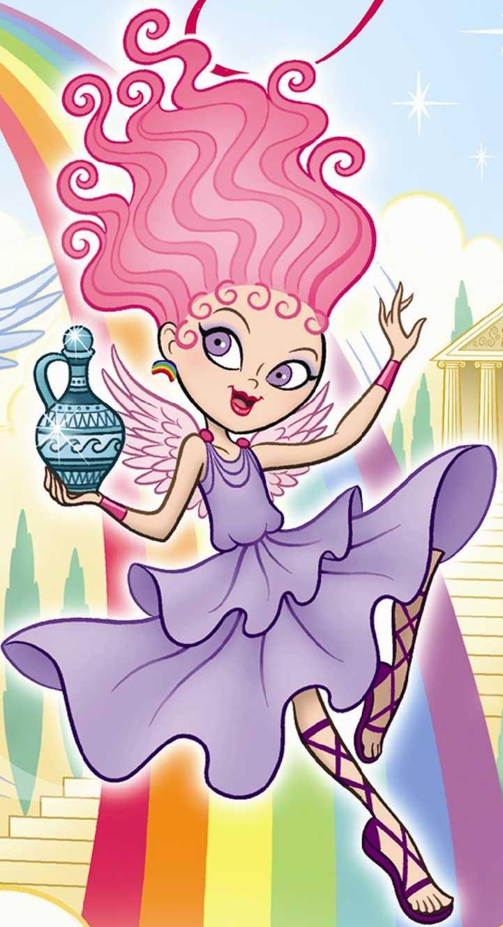 Iris clipart goddess Fandom Girls  Goddess powered