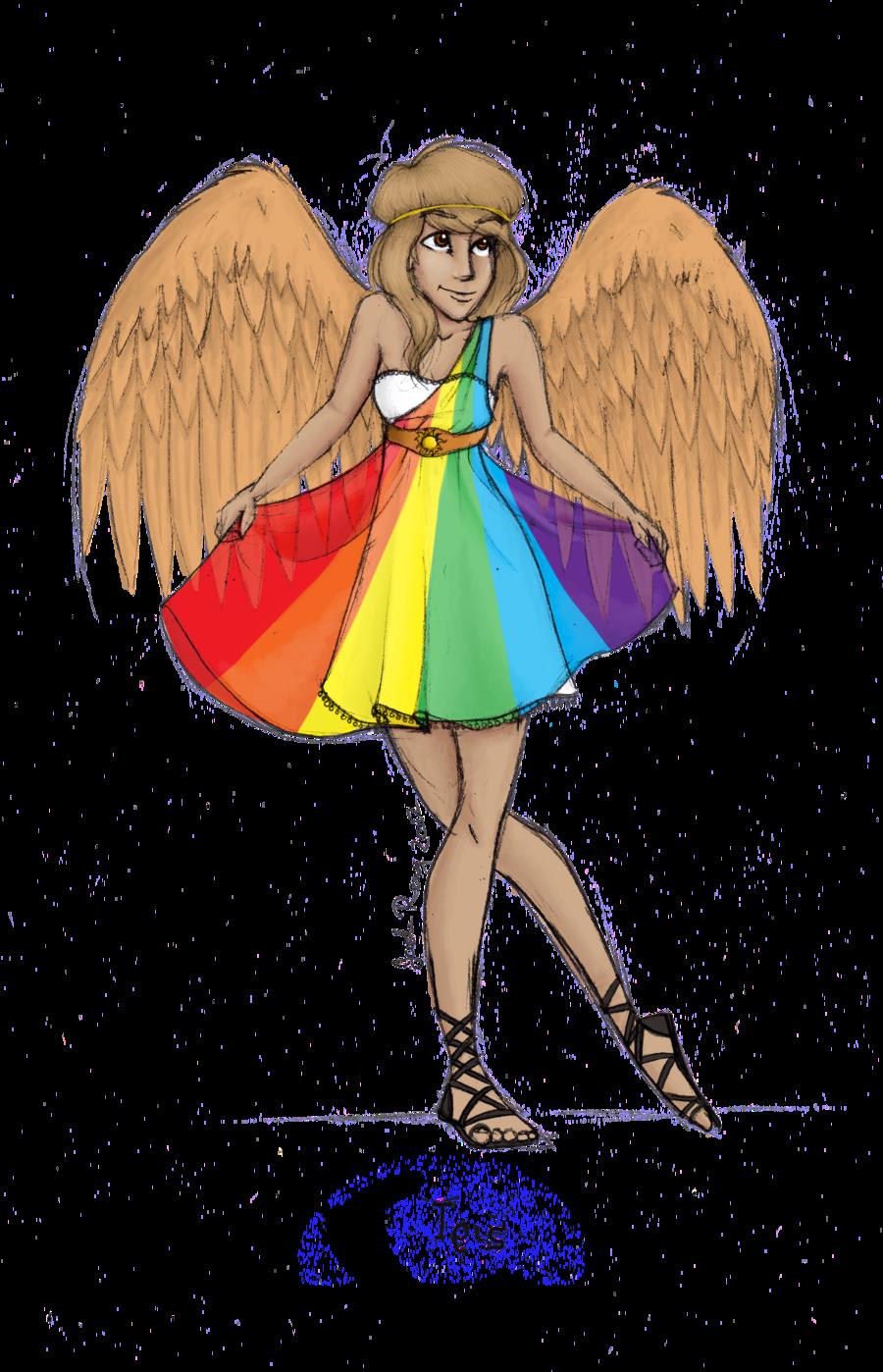 Iris clipart goddess By JadeAriel Iris  Goddess: