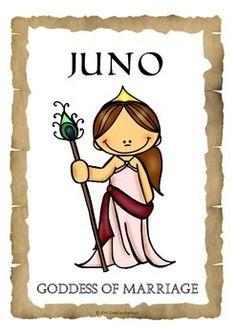 Goddess clipart juno greek Show from History Roman printables