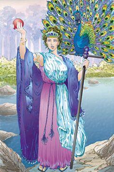 Goddess clipart juno greek Peacocks Heaven Queen – of
