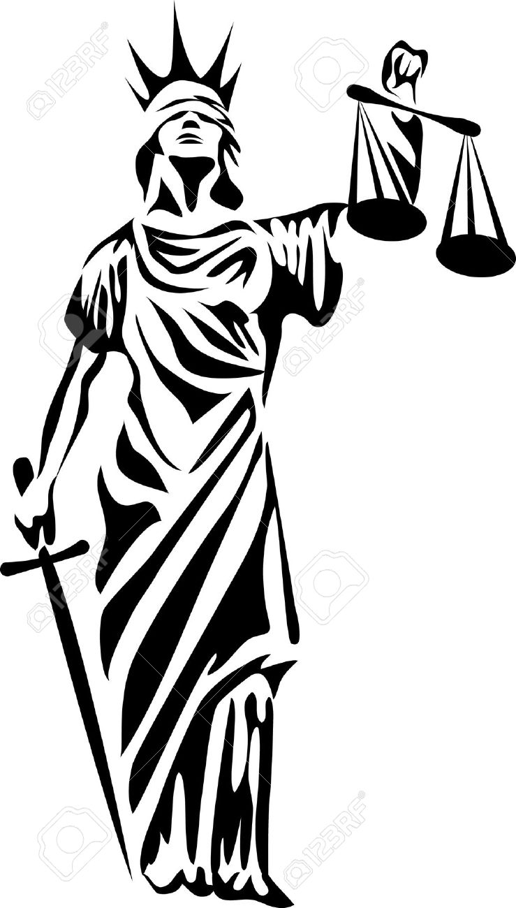 Goddess clipart lady justice Rhetoric The  of Justice: