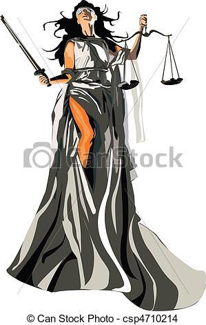 Goddess clipart lady justice Stock Art of goddess Illustrations
