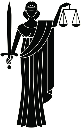 Goddess clipart lady justice  of Art Clipart of