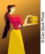 Goddess clipart pandora 668 Women costume Royalty Pandora's