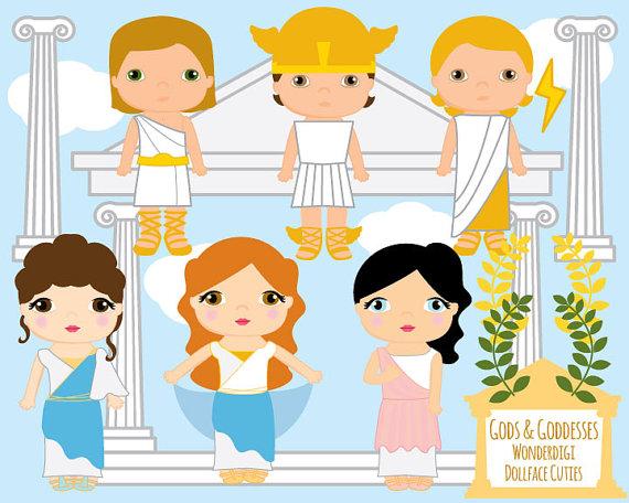 Gods clipart cute Toga Cute Goddesses Dollface Gods