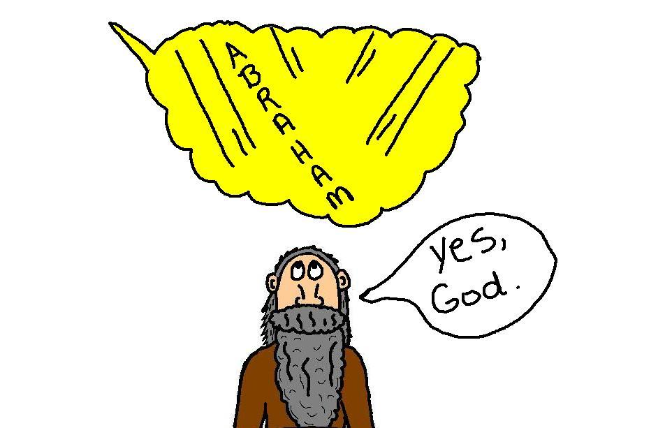 Gods clipart abraham Show  will and relationalrealities