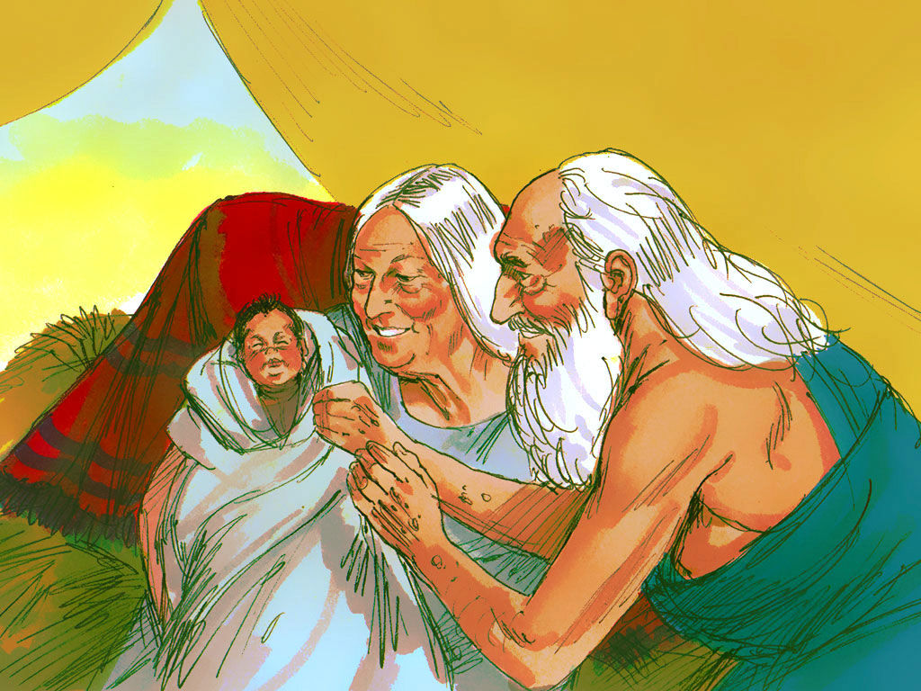 Prophecy clipart abraham and sarah Art Bible Art Free image: