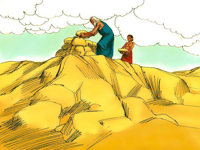 Gods clipart abraham Clipart / kleuters on Bijbel: