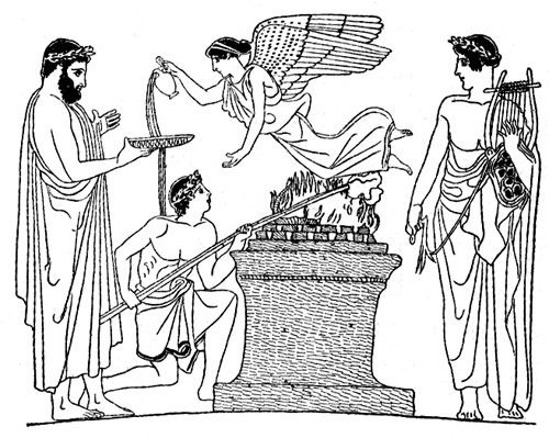 Gods clipart ancient greek Line images Greek on Drawings
