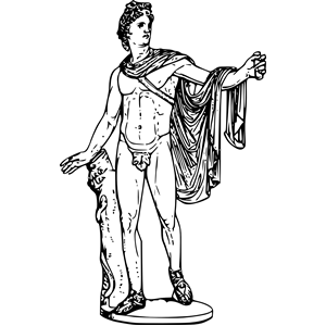 Gods clipart apollo Apollo (wmf  eps Apollo