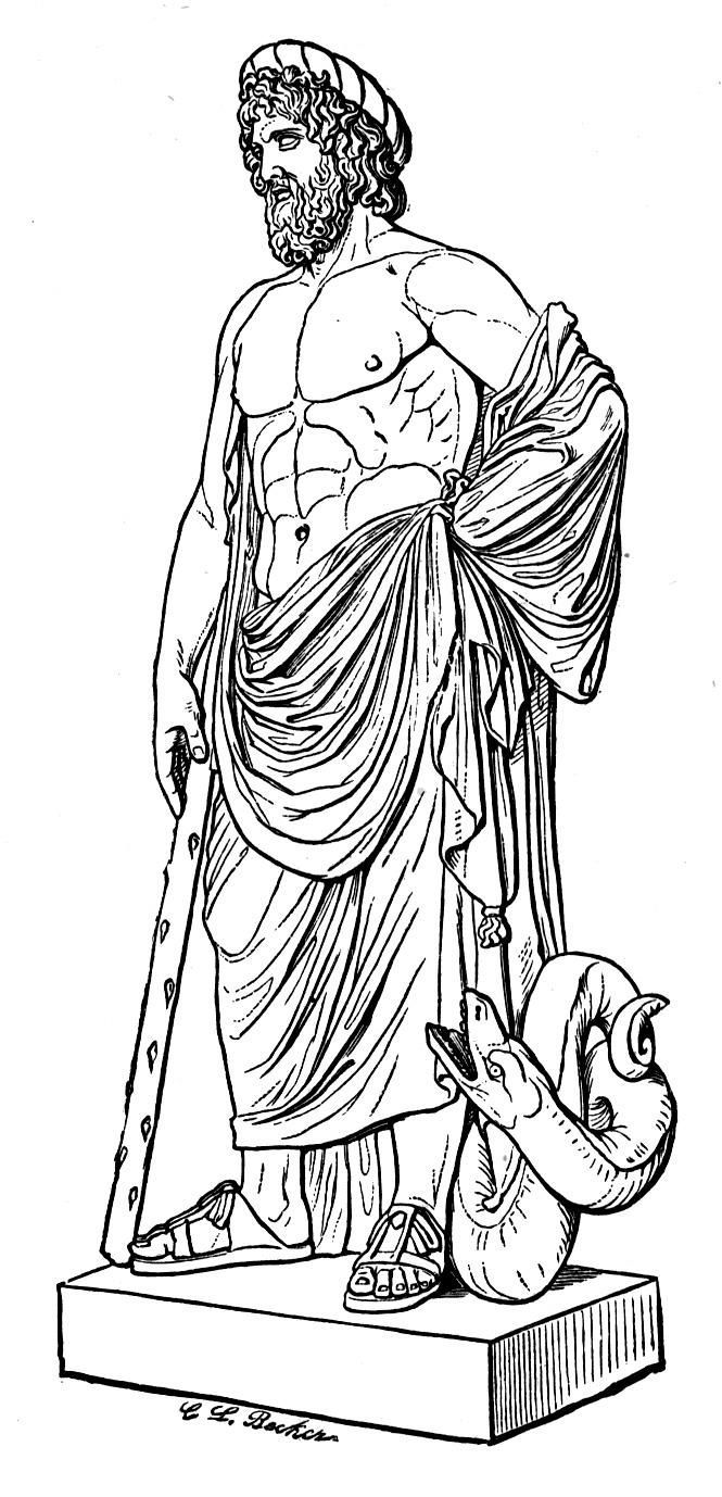 Gods clipart apollo Son in Roman Greek God