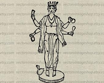 Gods clipart ceres Art Graphic Clipart Ancient Hindu