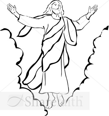Gods clipart christianity Of Ascension Clipart Our Christian
