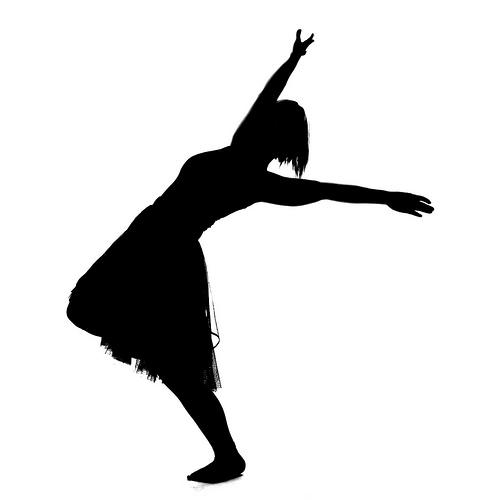 Gods clipart dance Praise dance  Silhouette ·