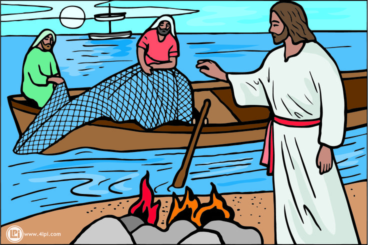 Boat clipart disciples Cast to Free Clip Clipart