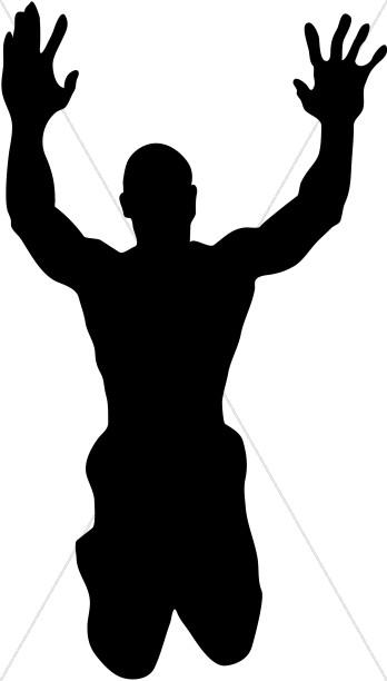 Shadow clipart arm Clipart Praise Man Image Praise