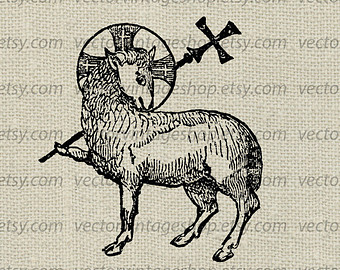 Gods clipart formal Download Etsy Dei Lamb clipart