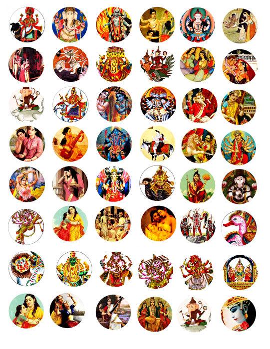 Gods clipart god krishna baby 50 VellasCollageSheets dieties art dieties