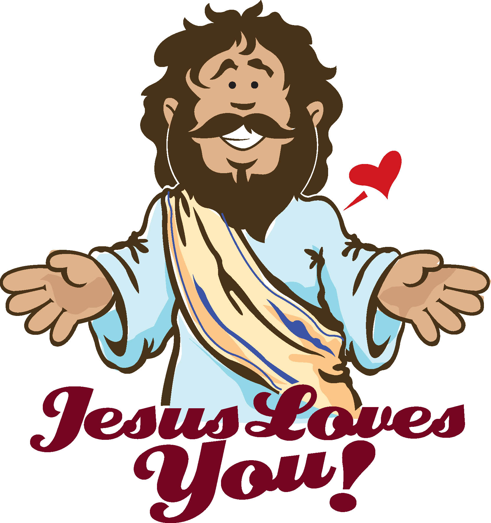 Gods clipart god loves you Images Clipart Clipground Loves Jesus