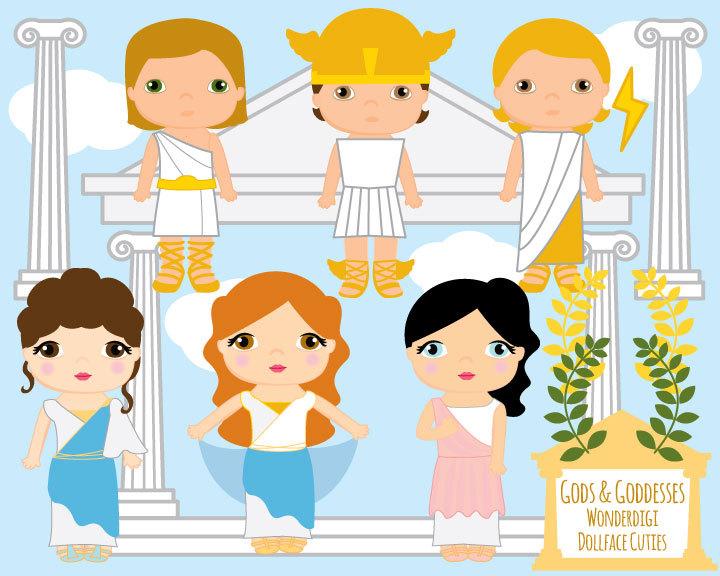 Gods clipart goddess This Kids Greek Gods Like