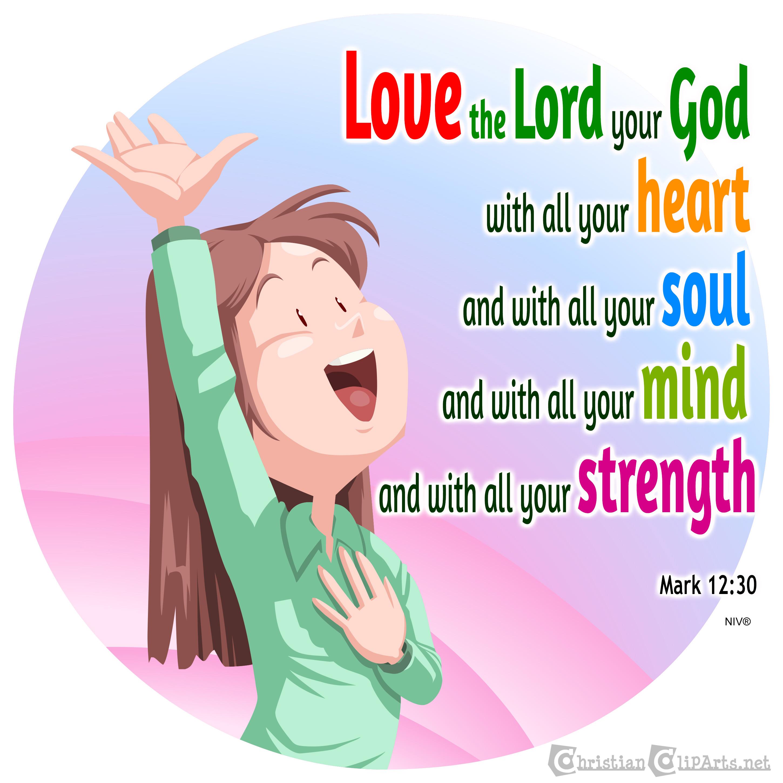 Gods clipart god's love God Love _ Christian heart
