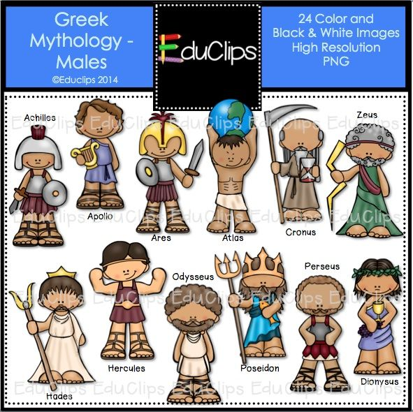Gods clipart greek mythology BBCpersian7 monsters on Clip clipart