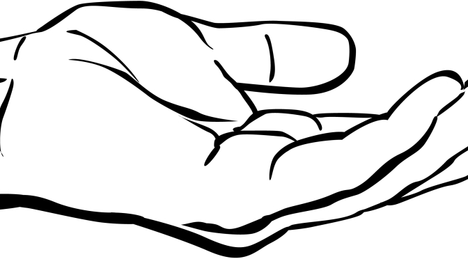 Healing clipart black and white Hand Christian International lessons from