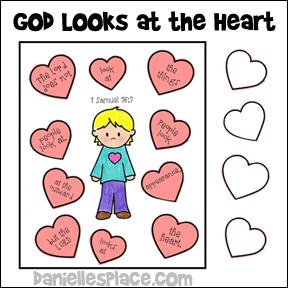 Gods clipart heart Heart God Kids Sheet Looks