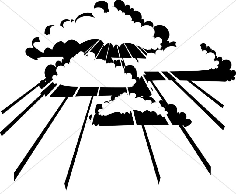Gods clipart heaven clipart Clipart Day Clipart Clouds Ascension