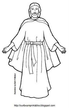 Gods clipart heavenly father Children heavenly collection Coloring Primary
