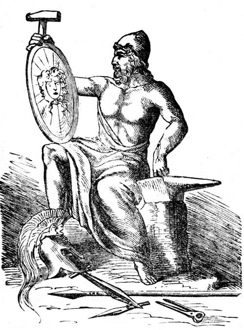 Gods clipart hephaestus And Greek God Blacksmiths of