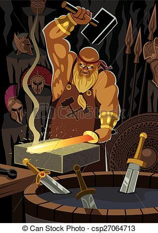 Gods clipart hephaestus / god The Hephaestus csp27064713
