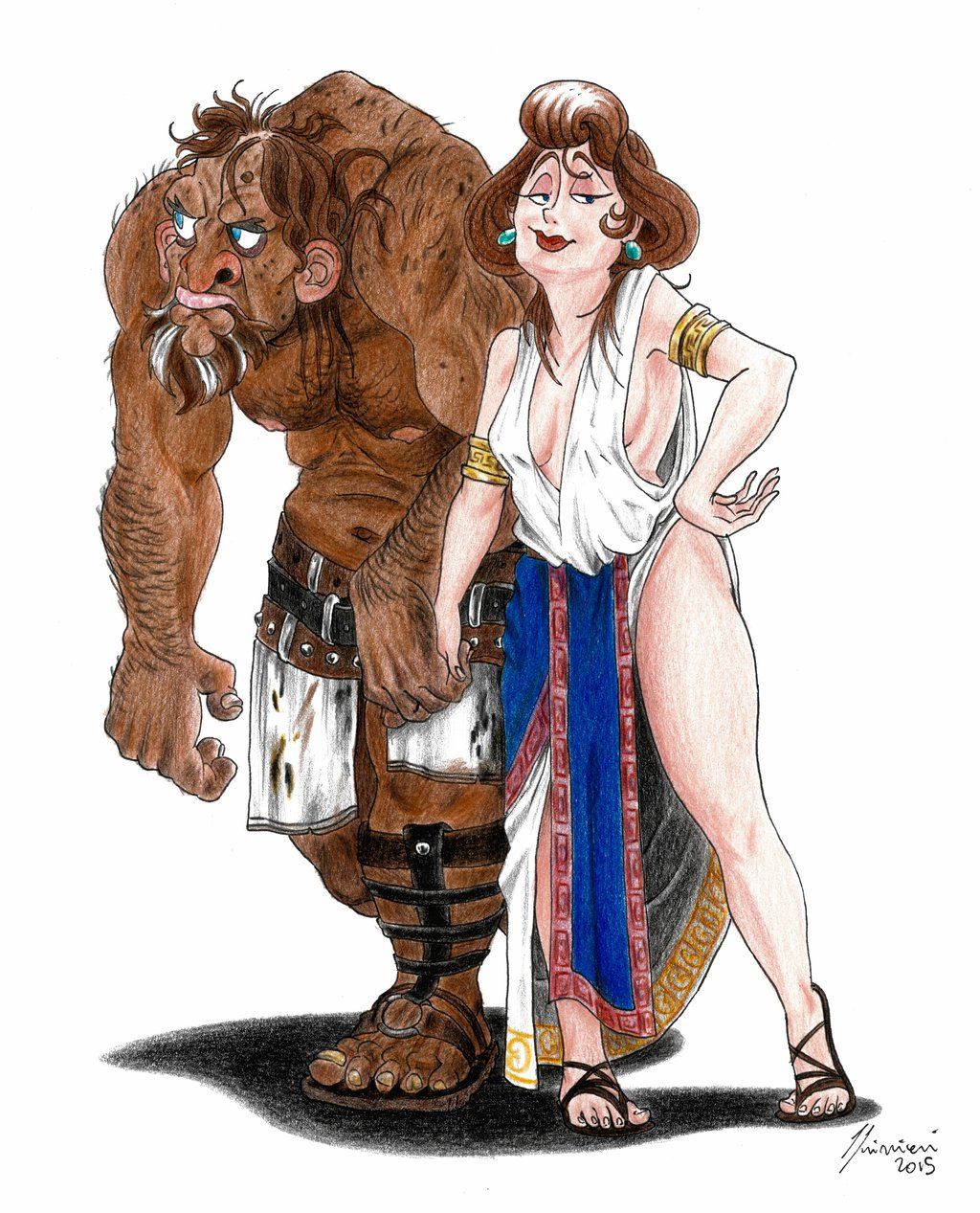 Gods clipart hephaestus Hephaestus Aphrodite  Olympus by