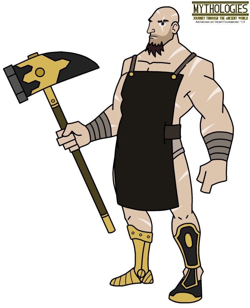 Gods clipart hephaestus DeviantArt Mythologies 2013 by HewyToonmore
