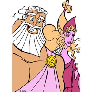 Gods clipart hera And Hercules Hercules and Hera