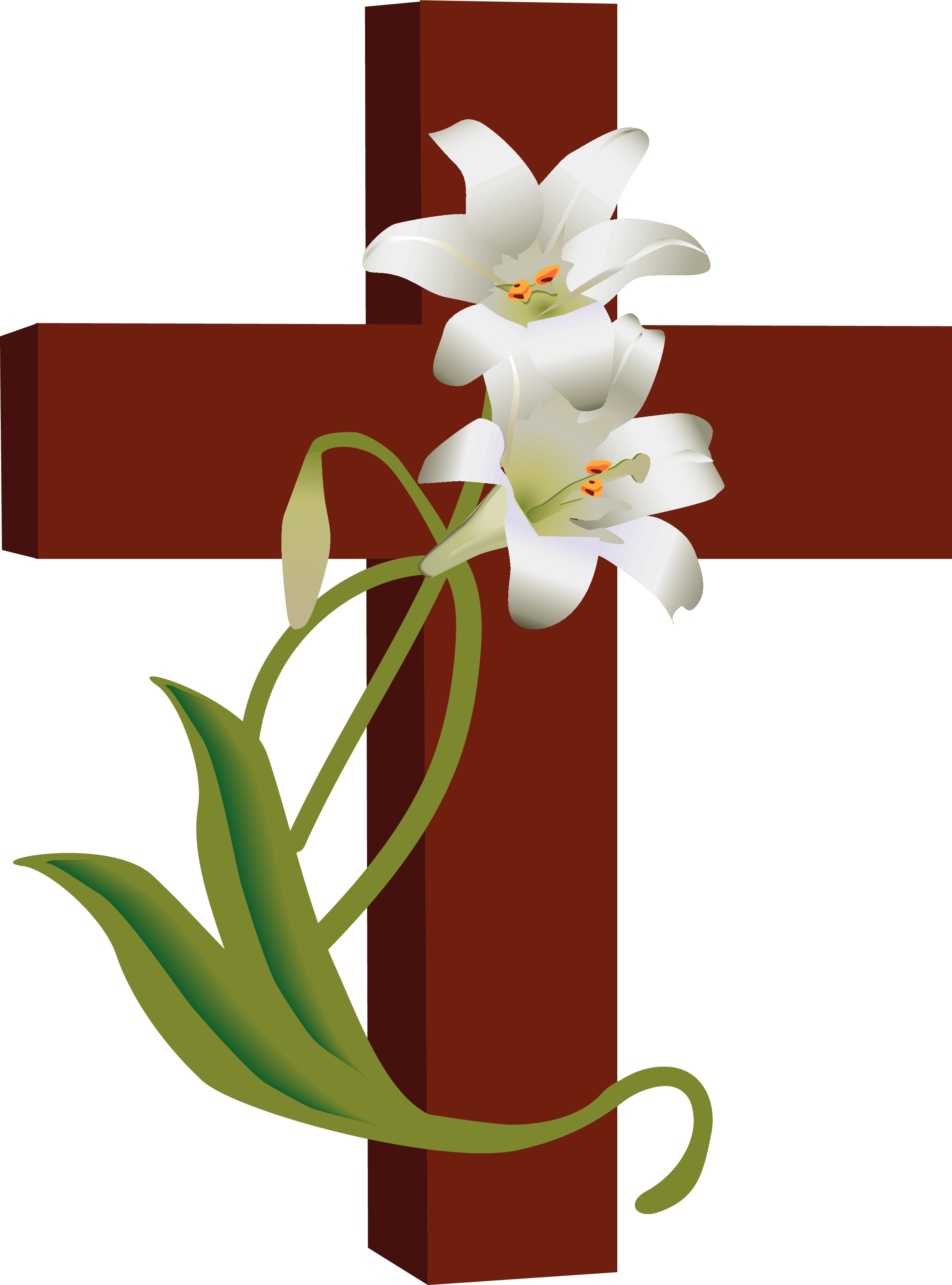Red Flower clipart religious #6