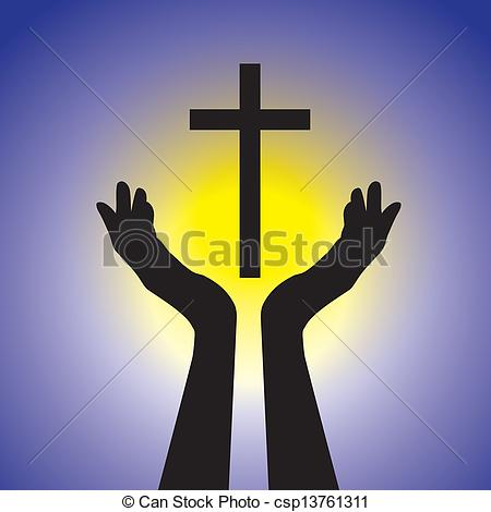 Gods clipart holy cross By free 004 showing holding