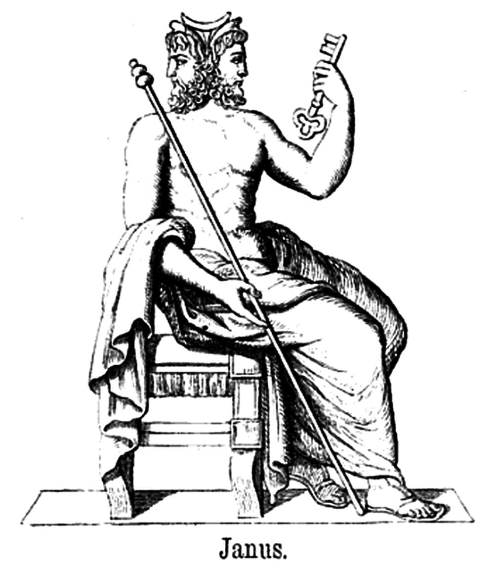 Gods clipart janus Art – Clipart Clip Janus