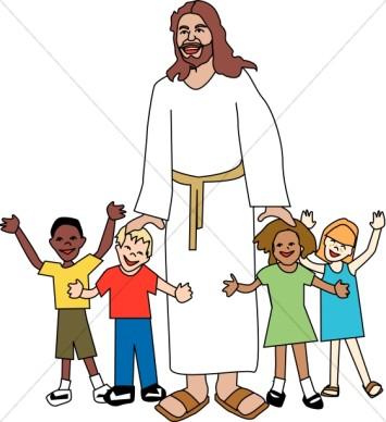 Gods clipart jesus Clipart Art Panda Children Jesus