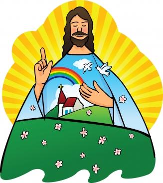 Heaven clipart jesus child Jesus god and com collection