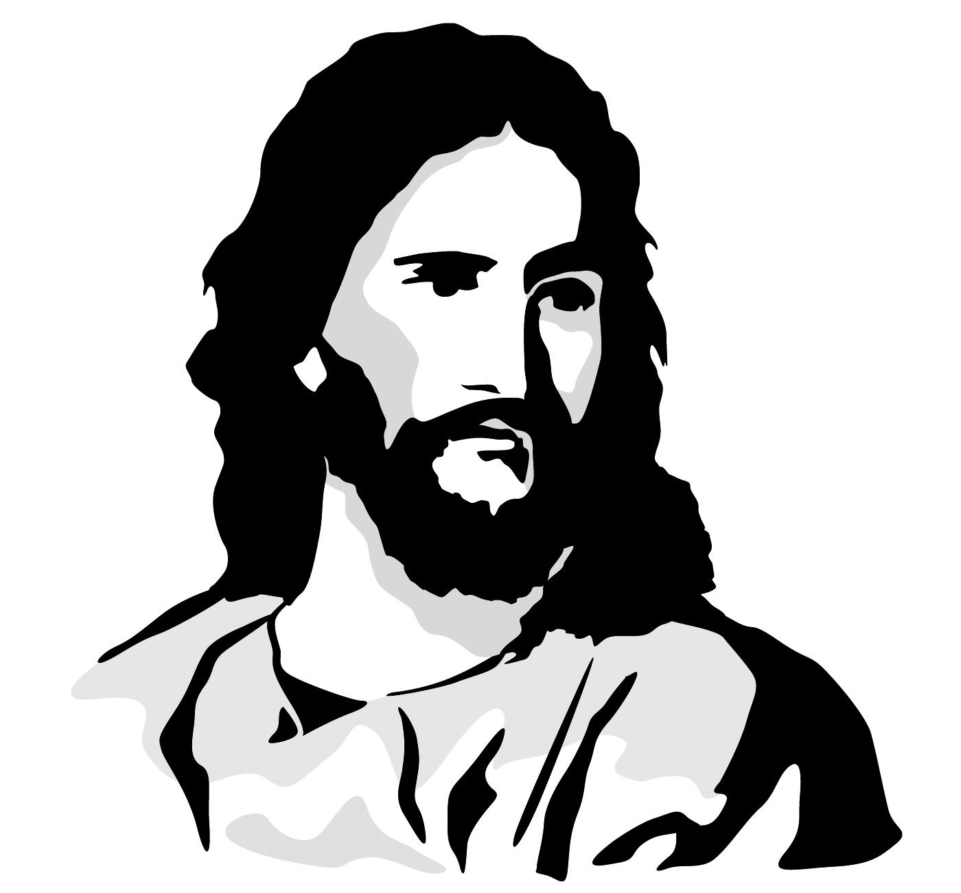 Gods clipart jesus face Of Art Clip Jesus Jesus
