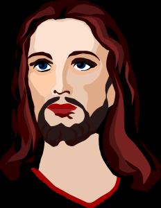 Gods clipart jesus face Jesus SMALL  (PNG) Christ